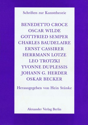 Schriften zur Kunsttheorie-Paket