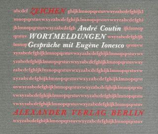 Gespräche mit Eugène Ionesco