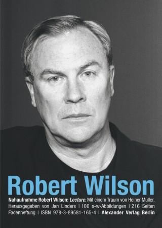 NAHAUFNAHME Robert Wilson