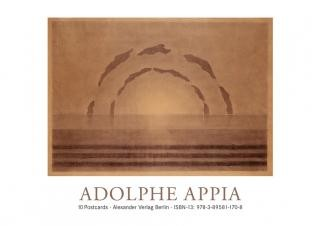 Adolphe Appia Postkartenbuch