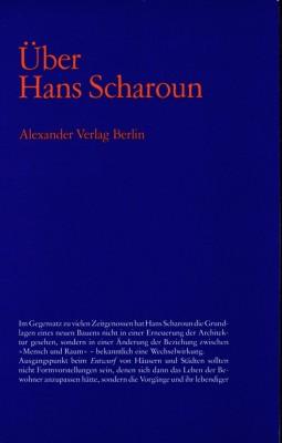 Über Hans Scharoun